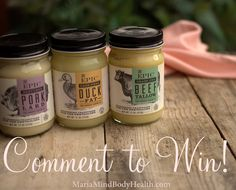 EPIC GIVEAWAY  Epic has generously donated 3 jars of dairy free fats! It is easy to win!  1. Like Keto Adapted on Facebook and share with your friends and family!  2. Like Epic on Facebook!  3. Comment below with a recipe link on what dairy free ketogenic recipe of mine is your favorite (can be a blog post or cookbook recipe).  Winner will be chosen April 15th. Good Luck!