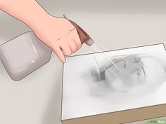 How to Transfer Photos Onto Canvas (with Pictures) - wikiHow Photos Onto Canvas, Canvas Pictures, Pictures To Paint, Transfer Picture To Canvas, Photo Canvas, Decoupage On Canvas, Diy Canvas Art, Canvas Crafts, Diy Foto