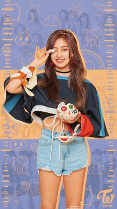 Nayeon, Leader Twice, Twice Jihyo, Twice Kpop, Dahyun, Love Wallpaper, What Is Love, Photo Cards, Girl Group