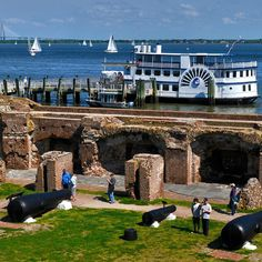 11. Take the ferry out to Fort Sumter in the Charleston Harbor.