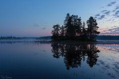 Luovijärvi, Posio, Southern Lapland. August 7th, 2014