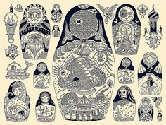 Navigational Matryoshkas by Kyler Martz on flickr. All rights reserved.