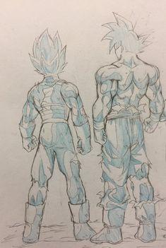 Goku Migatte no Gokui & Vegeta Migatte Blue