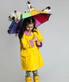 Halloween costume: It's raining cats and dogs.....cute!