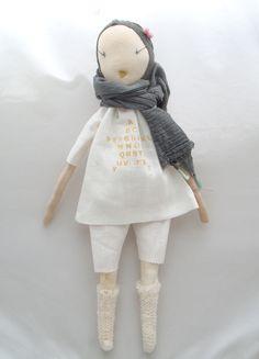 jess brown dolls | Atsuyo et Akiko - Jess Brown rag doll - Diamond
