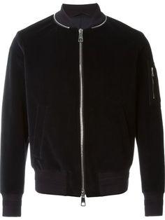 Neil Barrett velvet bomber jacket