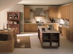 Perfect Spruce kitchen with island NUOVO MONDO N Nuovo Mondo Collection by Scandola Mobili