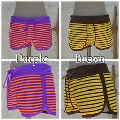 ◆◆New Arrival◆◆Swim Surf Pants -color: Purple & Brown- #naturaleeza #surffashion