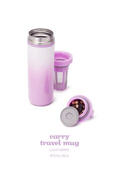 25 Holiday Gifts Every Jet-Setter Will Love via Perfect Cup Of Tea, Tea For One, My Cup Of Tea, Davids Tea, Tea Brands, Tea Accessories, Bottle Design, Tea Recipes, Tea Mugs