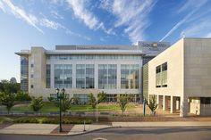 Goldfarb Hall at Goldfarb School of Medicine on Barnes-Jewish Hospital and Washington University School of Medicine campus.