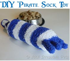 DIY Pirate Sock Toy (no sew!) – uses old thin walled drink bottle DIY Pirate Sock Toy (no sew!) – uses old thin walled drink bottle Cheap Dog Food, Dry Dog Food, Diy Dog Toys, Pet Toys, Animal Nutrition, Pet Nutrition, Nutrition Guide, Sock Animals, Baby Animals