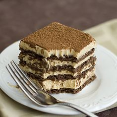 A no bake pumpkin chocolate layered cake. Less than 15 minutes of hands-on time.