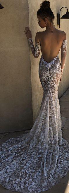 BERTA spring 2018 strapless sweetheart neckline full embellishment beautiful romantic fitted wedding dress - BERTA Spring 2018 Wedding Dresses | @bertabridal