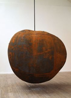 Antony Gormley, Expansion Works ( I once declared that I wanted to marry him. With rust like this, how could I not?)