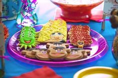 Muppet Baby Shower #cookies #muppet