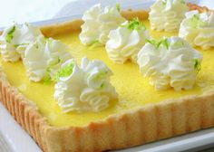 I love all kinds of lemon dessert this is a simple lemon pie that I can't wait to make