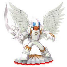 Skylanders Trap Team - Knight Light (Trap Master) [Light] Character