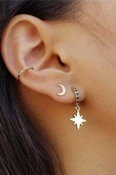 Ear Peircings, Cute Ear Piercings, Tragus Piercings, Cartilage Earrings, Tragus Piercing Jewelry, Belly Piercings, Belly Button Piercing, Ear Plugs, Piercing Tattoo
