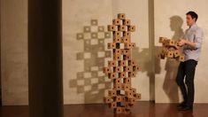 Ghostcubes created by Erik Åberg