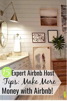 Airbnb Host Checklist: 15 Simple Ways to Get More Bookings This Airbnb host checklist describes what to do to list your property. Our list of 15 Airbnb host tips helps your property stand out and get more listings. Make More Money, Make Money From Home, How To Make, Air Bnb Tips, Airbnb Rentals, Rental Property, Income Property, Home Improvement Projects, Home Renovation