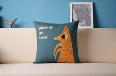 Animal Series - Wake Up Now Cushion Cover for sale on Trade Me, New Zealand's auction and classifieds website Kids Bedroom, Bedroom Ideas, Wake Up Now, Home And Living, Cushions, Throw Pillows, Cover, Animals, Clouds