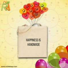 is something that we make inside ourselves instead of depending on the surroundings. Richie Bags wishes you a joyful Wish Quotes, Positive Thoughts, Joyful, Happiness, Happy, Handmade, Bags, Handbags, Hand Made