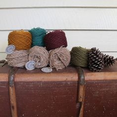 Timber and Twine.co Wool and Handspun Alpaca