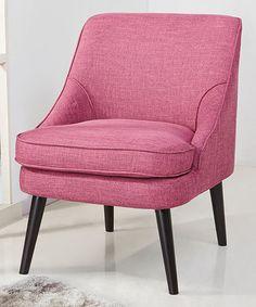 Rose Yuma Accent Chair #zulily #zulilyfinds