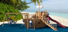#911 Pirate Ship Playhouse Playset