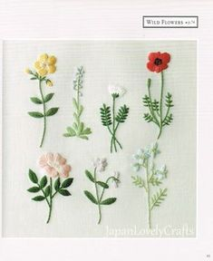 Embroidery designs by hand flowers beautiful 31 Ideas Hand Embroidery Patterns Free, Embroidery Materials, Embroidery Flowers Pattern, Hand Embroidery Stitches, Crewel Embroidery, Vintage Embroidery, Embroidery Kits, Ribbon Embroidery, Floral Embroidery