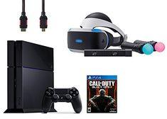 PlayStation VR Start Bundle 4 Items:VR Headset,Move Controller,PlayStation Camera Motion Sensor,PlayStation 4Call of Duty Black Ops III
