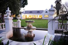 Excelsior Manor Guesthouse offers luxury accommodation in the heart of the Robertson Wine Valley on a working wine farm. Luxury Accommodation, In The Heart, Farms, African, Wine, Mansions, House Styles, Homesteads, Fancy Houses