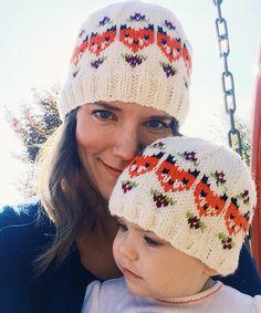 Knitting beanie pattern fair isle 30 ideas for 2019 Knitting For Kids, Crochet For Kids, Knitting Projects, Baby Knitting, Crochet Baby, Knit Crochet, Free Knitting, Knitting Tutorials, Knitting Machine