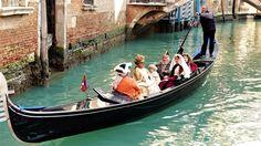 Le sommume du chic en gondole a Venise 2015