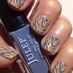 NOTD with @Julep Nedra stamped with @Dashica Peach. #NOTD #nails #nailart #ManiMonday #dashica #dashicanails #julepmaven #JulepNedra #AIS #aistamping