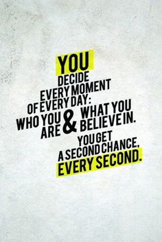 You decide who you are