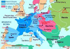 Europe, circa 1800.