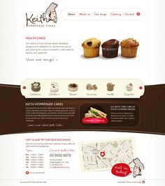 Birthday #Cakes #Muffins and Catering - Keith Homemade #Cakes - #Webdesign #inspiration www.niceoneilike.com