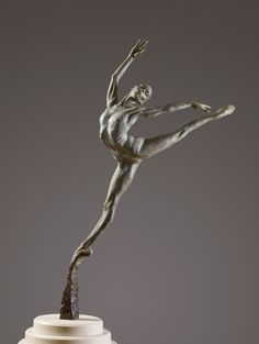 Richard Macdonald Sculpture.  I saw this dancer on my trip to the San Fransisco art galleries.