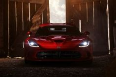 Dodge SRT Viper GTS 2013 on the Barn house