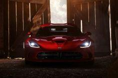 Dodge SRT Viper GTS 2013 on the Barn house