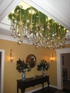 Search Results for christmas decorating ideas u2014 2 Articles & A Whole Bunch of Christmas Chandelier Decorating Ideas | Pinterest ...