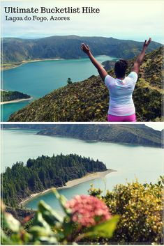 Hiking Lagoa do Fogo in Sao Miguel, Azores is an ultimate bucketlist hike. Read about this solo travel adventure and find out how to hike Lagoa do Fogo and not die.