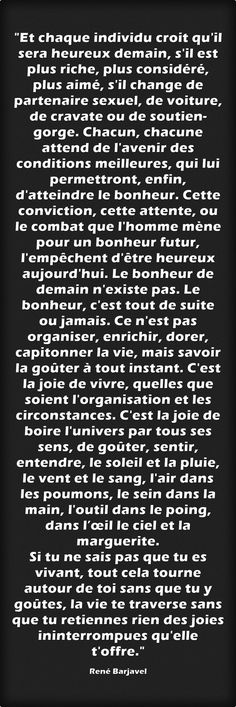René Barjavel French Words, French Quotes, Words Quotes, Me Quotes, Great Quotes, Inspirational Quotes, Life Words, Meaningful Words, Positive Attitude