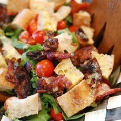 BLT Panzanella | Foodily