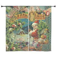 Christmas Santa Claus Antique Vintage Victorian Cu on CafePress.com