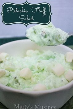 Pistachio Fluff Salad from Marty's Musings