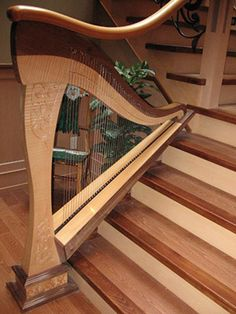 Specializing in fine quality harp strings for all models of lever harps since computerized harp stringing analysis, and free string installation guide String Installation, Styling Comb, Perfect Beard, Hair And Beard Styles, Stairways, Musical Instruments, Musicals, Heavenly, High Renaissance