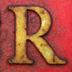 my fav initial. Letter Find, Letter N Words, Letter Art, Rust Never Sleeps, Alphabet Photography, Monogram Decal, Alphabet And Numbers, Illuminated Letters, Typography Fonts