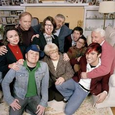 This is so cute, it's Fall Out Boy and their parents.